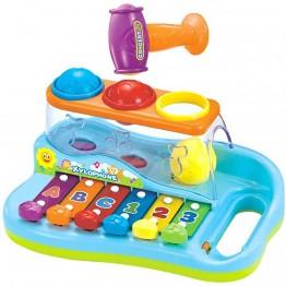 Ксилофон с топки и чукче за деца