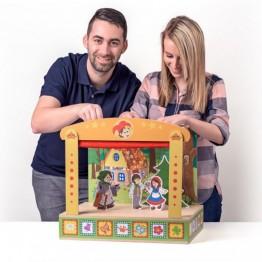 Дървен куклен театър, В света на приказките