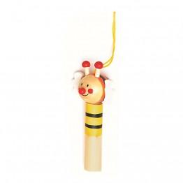 """Дървени свирки """"Животни"""" - Пчеличка"""