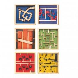 Лабиринт 12 x 12 - жълт