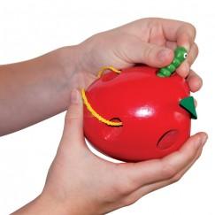 Ябълка и червейче за шиене