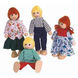 Кукли - семейство, 4 бр.