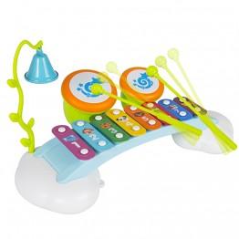 Ксилофон с барабани за деца