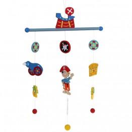 """Бебешка висяща играчка """"Вълшебна приказка"""" - Пирати"""