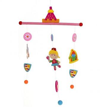 """Бебешка висяща играчка """"Вълшебна приказка"""" - Принцеси"""