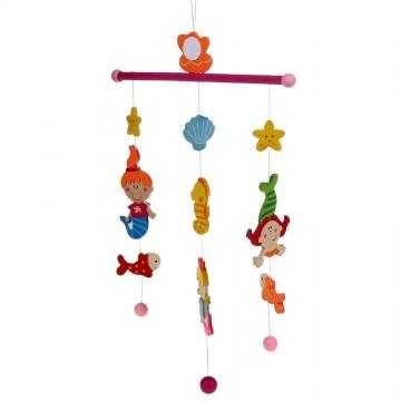 """Бебешка висяща играчка """"Вълшебна приказка"""" - Русалки"""