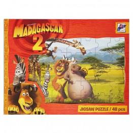 Голям пъзел Мадаскар, 48 части
