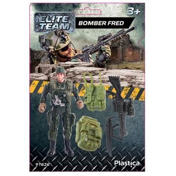 Елитен отряд - Войник Фред с белезници
