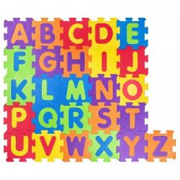 Mек пъзел за под, Английски азбука