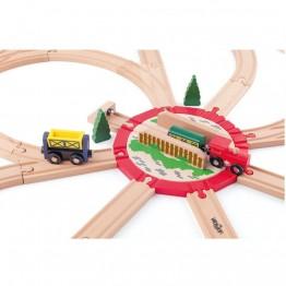 Голямо разклонение за влак с мост
