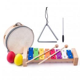Дървени музикални инструменти, Малкият музикант