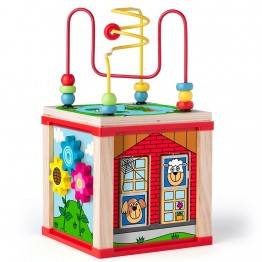 Дидактически цветен образователен куб