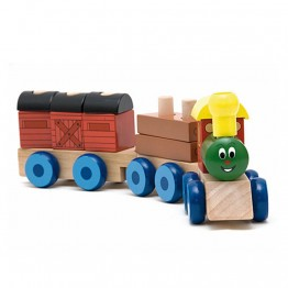 "Дидактически влак с два вагона ""Веселото влакче"""