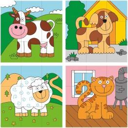 Kубчета - низанки, Животните от фермата