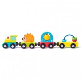 Детско влакче, с вагончета с различни активности