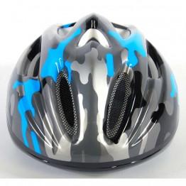 Детска каска за велосипед, Deluxe, синьо