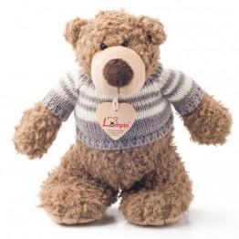 Плюшен мечо Денис с пуловер