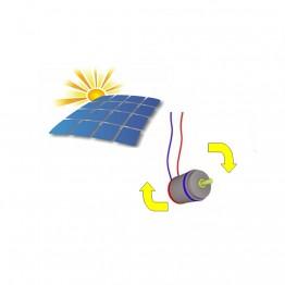 Метален конструктор със соларна батерия, Самолет, 98 части, Silver Serie, Tronico