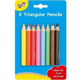 8 триъгълни молива