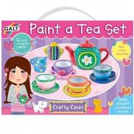 Нарисувай сервиз за чай