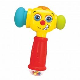 Играчка за бебе чукче със звук и светлина
