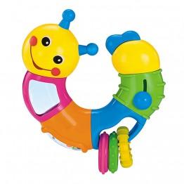Усукваща се гъсеничка за бебе с активности