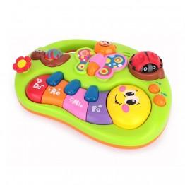 Бебешко пиано с усмихнати животни