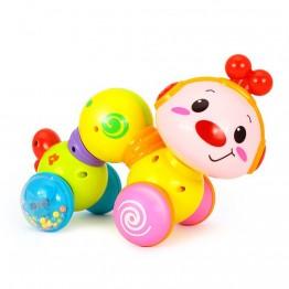 Музикална играчка за бебе, Щастливото червейче