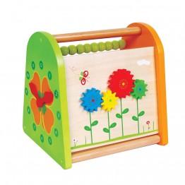 Дървена играчка за активни занимания, Пролет