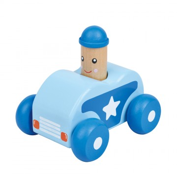 Бебешка количка със звук, Бийп, синя