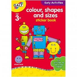 """Книжка """"Цветове, форми и размери"""""""
