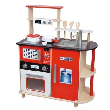 Детска дървена кухня с модерен дизайн