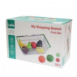 Детска кошница за пазар с плодове