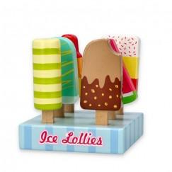 Щанд със сладоледи на клечка