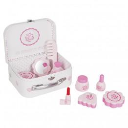 Комплект с принадлежности за красиви малки дами в куфарче