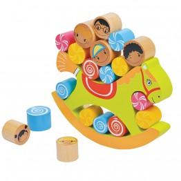 Дървена игра за баланс, Конче