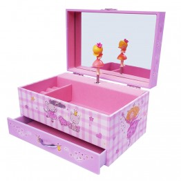 Голяма музикална кутия с чекмедже - Принцеса Парма
