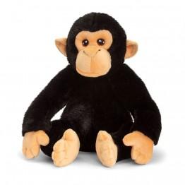 Keel Toys, Шимпанзе, плюшена екологична играчка от серията Keeleco, 25 см