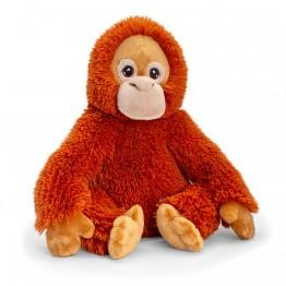 Keel Toys, Oрангутан, екологична плюшена играчка от серията Keeleco, 25 см