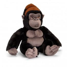 Keel Toys, Горила, екологична плюшена играчка от серията Keeleco, 30 см