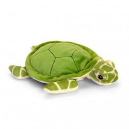 Keel Toys, Костенурка, екологична плюшена играчка от серията Keeleco, 25 см