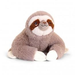 Keel Toys, Ленивец, eкологична плюшена играчка от серията Keeleco, 25 см