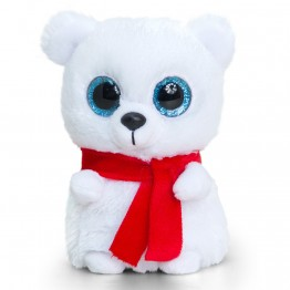Плюшена играчка, Бяло полярно мече, 10 см
