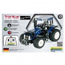 Метален конструктор, Трактор, New Holland T8 390, с радио контрол, Tronico