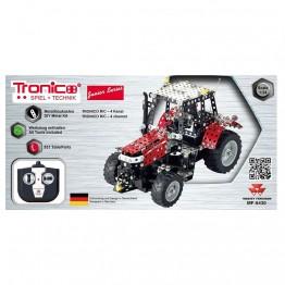 Метален конструктор, Трактор Massey Ferguson, с радио контрол,, Tronico