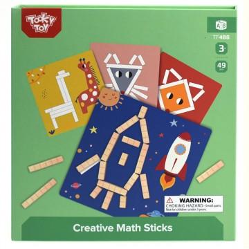 Креативна игра, Рисувай с магнитни математически пръчици