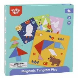 Tooky Toy, Магнитен танграм за деца
