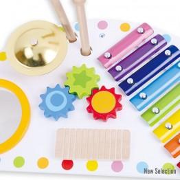 Детски музикален център с 5 музикални инструмента