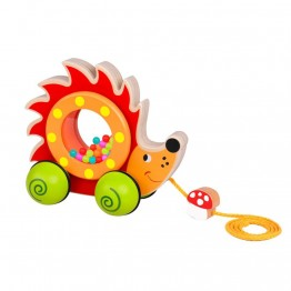 Tooky Toy, Дървена играчка за дърпане, Таралежче