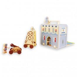 Рицарски замък, в куфарче